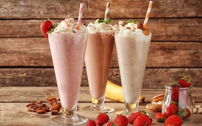 4 receitas de milkshake para se refrescar hoje!