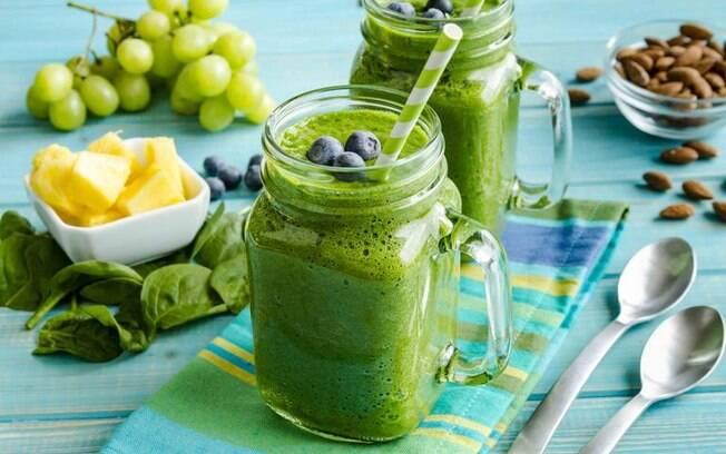 Suco verde: receitas para remover as impurezas do corpo
