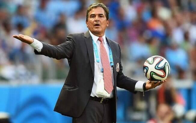 Jorge Luis Pinto comandou a Costa Rica na Copa do Mundo de 2014