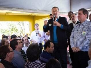 Eduardo Campos inaugura comitê de campanha em Marília, no dia 23/7/2014