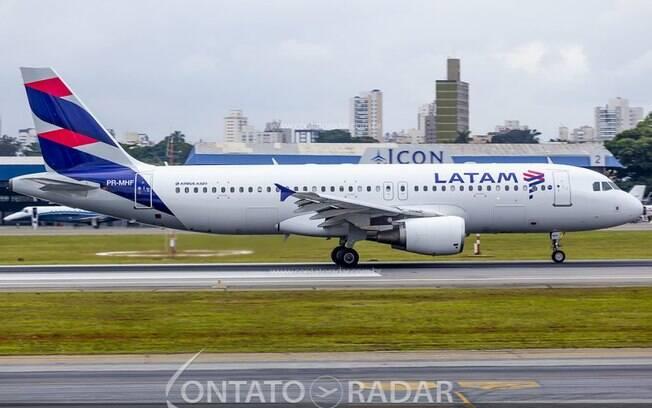 LATAM suspende temporariamente voos para Argentina, Colômbia e Peru
