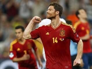 Xabi Alonso da Seleção da Espanha