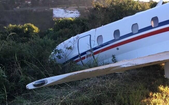 Avião que pertence ao DJ Alok teve problemas na decolagem no aeroporto de Juiz de Fora, Minas Gerias, e chegou a sair da pista
