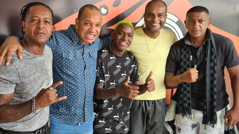 Don Capuccino, Anderson Leonardo, DJ Rogerinho do Quero, Titto Jr e cantor Dupand