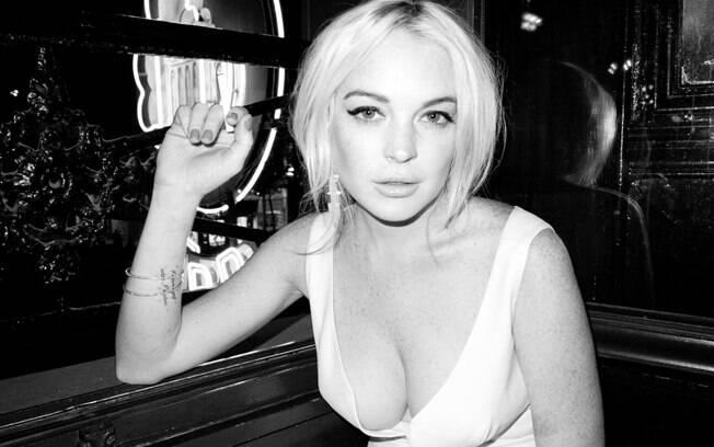 Lindsay Lohan para o fotógrafo Terry Richardson