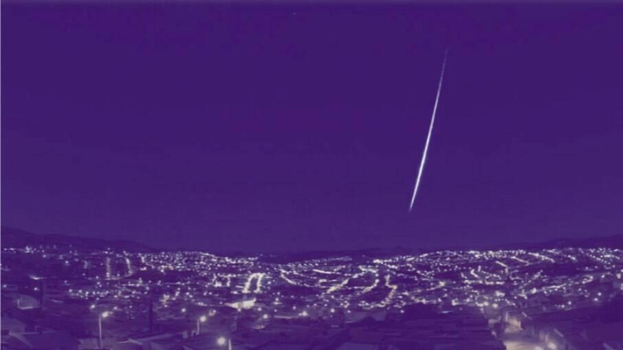 Meteoro atravessa os céus de São Paulo, Minas Gerais e Rio de Janeiro