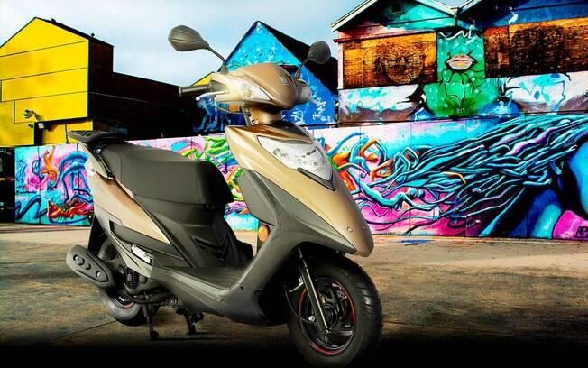 Haojue Lindy é a 125cc com consumo de 100cc