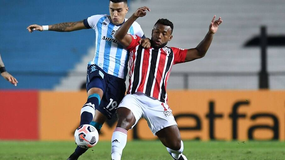 São Paulo recebe o Racing pela Libertadores