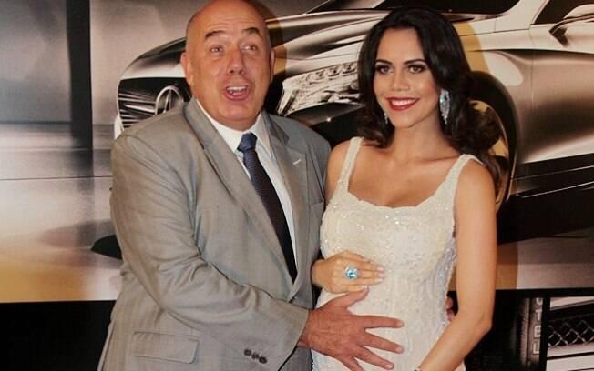 Amilcare Dallevo e Daniela Albuquerque