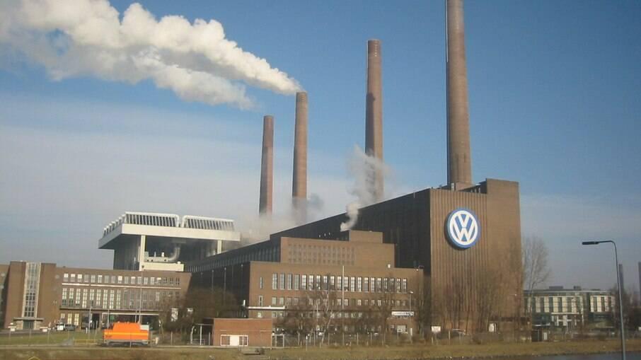 Fábrica da volkswagen em Wolfsburg