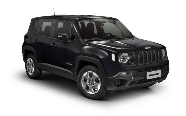 Jeep Renegade é o único da lista com câmbio automático, mas tem o menor porta-malas