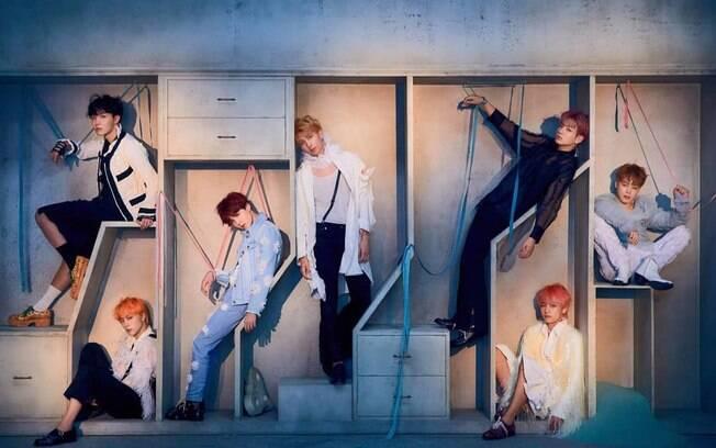 BTS é uma das maiores bandas de k-pop do mundo