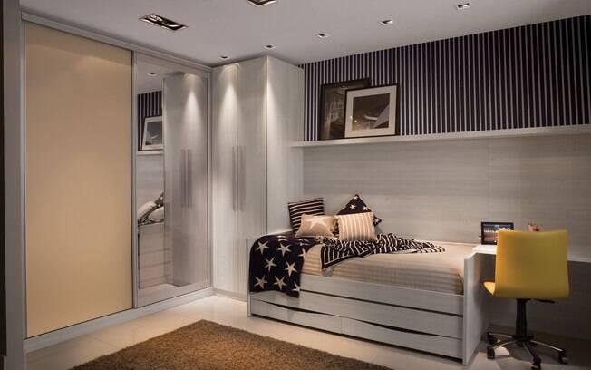 Saiba decorar quartos de adolescentes Decoração iG ~ Quarto Amarelo Jovem