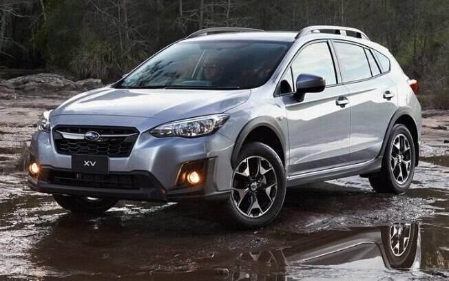 Entre os carros que vendem mal, o Subaru XV surge como um hatch médio aventureiro difícil de ser visto nas ruas