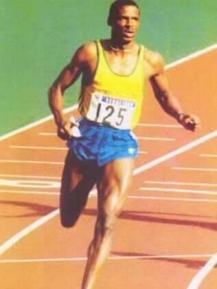 Robson Caetano conquistou o ouro nos 100m e 200m do Pan de Havana-91
