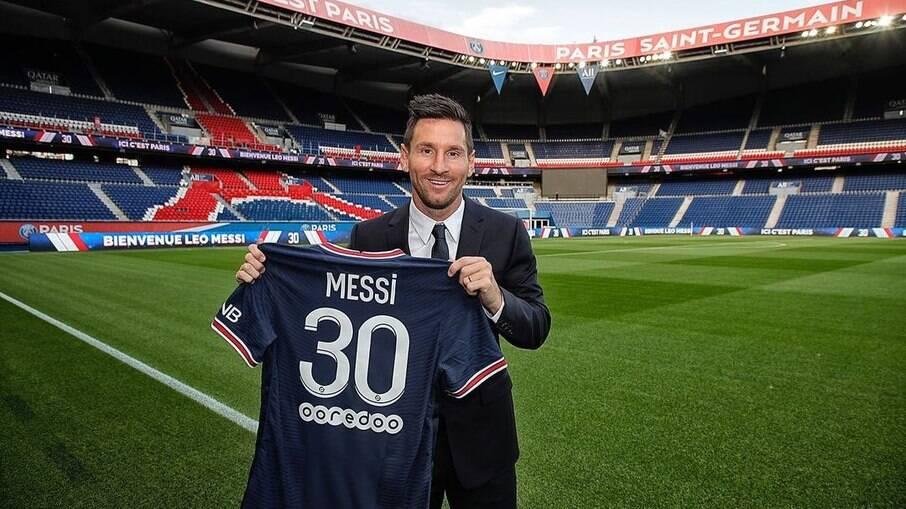 Messi está fora do jogo de sábado pelo PSG