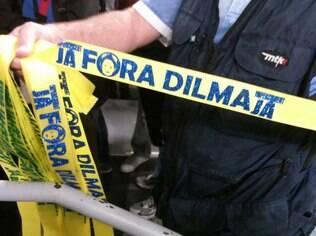 Protestos de domingo são contra Dilma