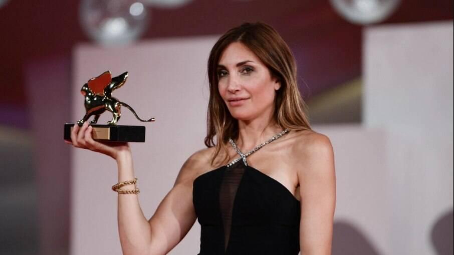 Audrey Diwan se tornou a quarta mulher a receber um Leão de Ouro, no Festival de Veneza 2021