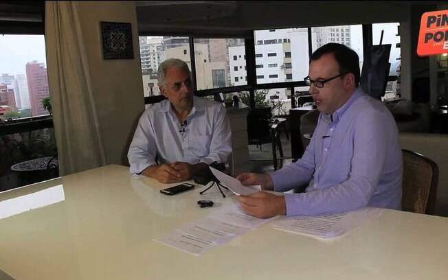 William Waack fala sobre sua demissão em entrevista a Bonfá no Youtube