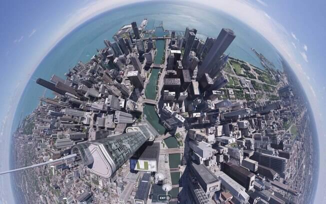 A plataforma 360 Cities é indicada para visitar várias cidades no mundo em apenas uma foto