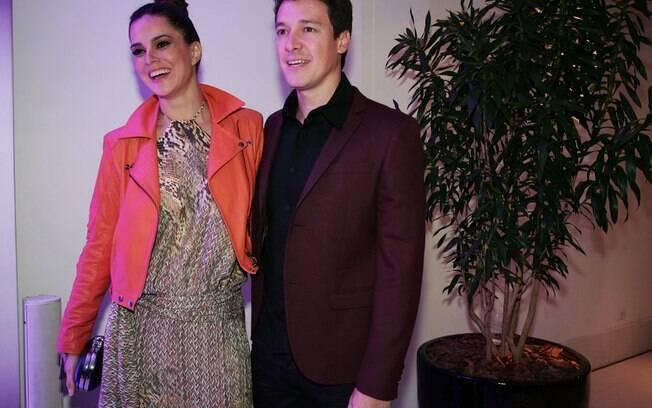 Vera Viel e Rodrigo Faro