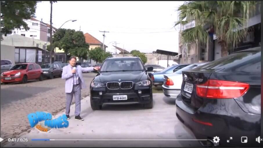 BMW é paixão antiga de Bibo Nunes