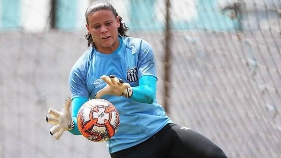 Michelle Lopes, goleira do Santos
