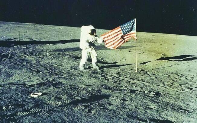 O vídeo traz, em 3 minutos, bastidores da viagem história à Lua