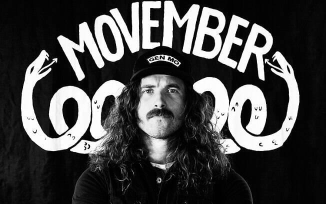 Movember conscientiza o homem sobre doenças como câncer de próstata e incentiva uso do bigode