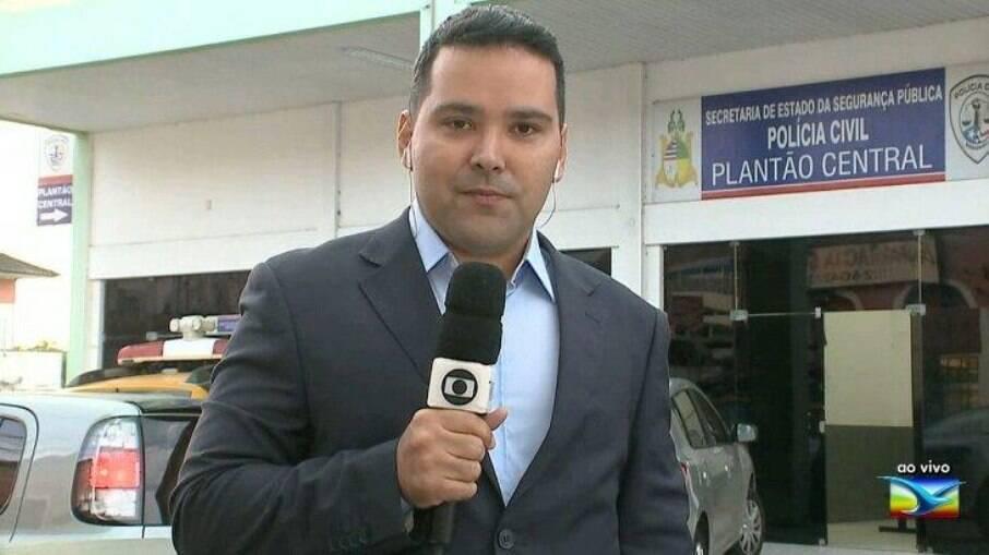 Olavo Sampaio, repórter da Globo