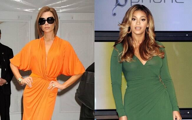 Wrap-dress favorece grande parte das mulheres, precisando apenas de ajustes no comprimento e no tamanho do decote