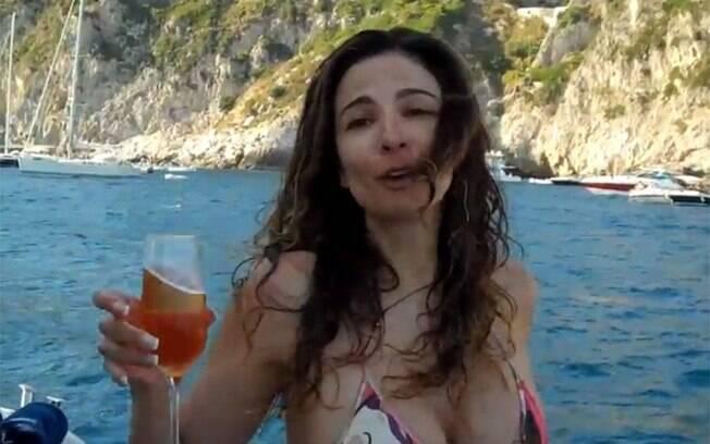 Luciana Gimenez: imitação de Luiza Marilac inspirou o novo reality