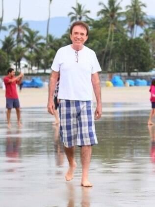 """Moacyr Franco: """"Devo estar vivendo os últimos 10% da minha vida""""."""