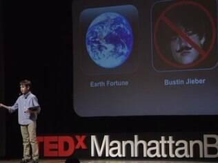 Aos 12 anos, Thomas apresenta seus primeiros aplicativos em palestra do TED Talk, em Manhattan Beach