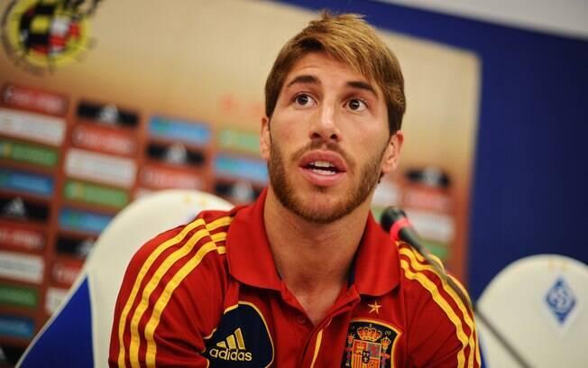 Sergio Ramos, do Real Madrid e seleção  espanhola