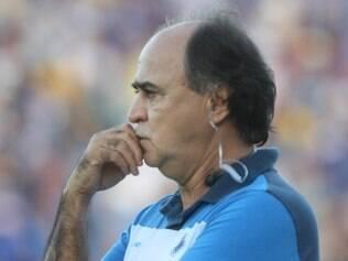 Marcelo Oliveira ficou insatisfeito com atuação do Cruzeiro diante do Internacional, neste sábado