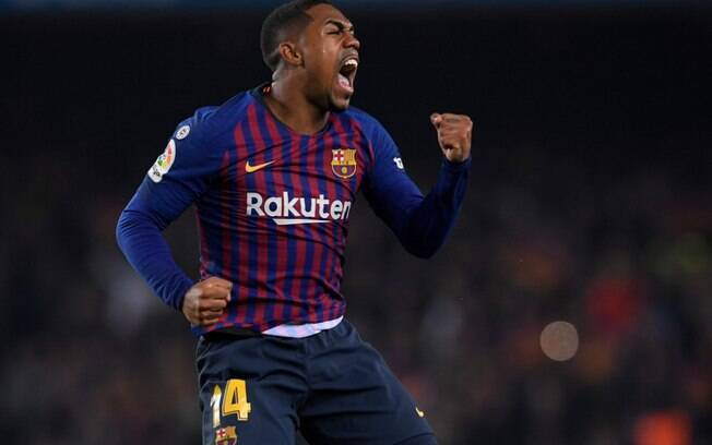 Malcom marca para o Barcelona no empate em 1 a 1 com o Real Madrid