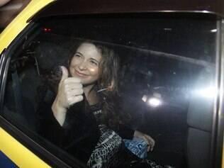 A atriz Cláudia Abreu deu à luz Pedro Henrique, seu quarto filho