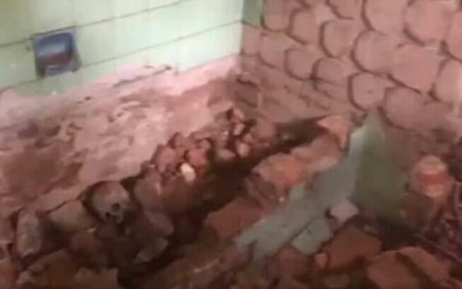 Ossos foram encontrados na casa do ditador