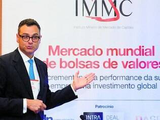 Na Bolsa. O vice-presidente da New York Stock Exchange (NYSE), Alex Ibrahim, quer mais empresas