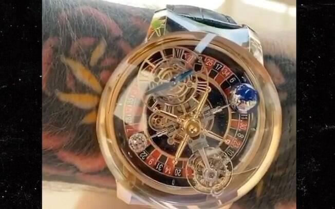 Novo relógio do lutador