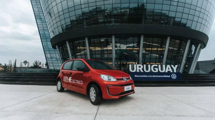 VW e-Up! dá o ponta pé inicial para uma nova fase da marca na América Latina durante a nova era da mobilidade