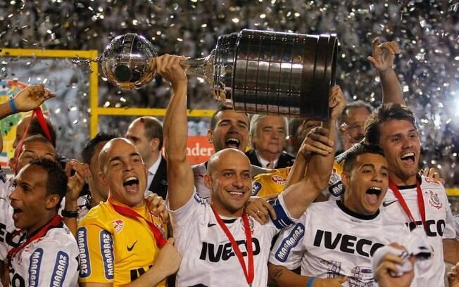 Em 2012 o título ficou com o Corinthians