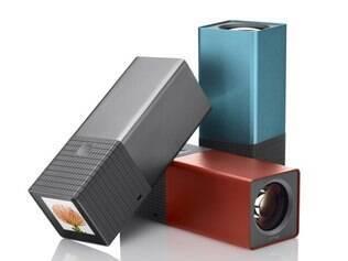 Lytro vem em três cores e possui versões de 8 GB e 16 GB