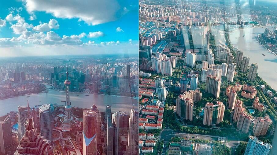 Mirante em Shangai