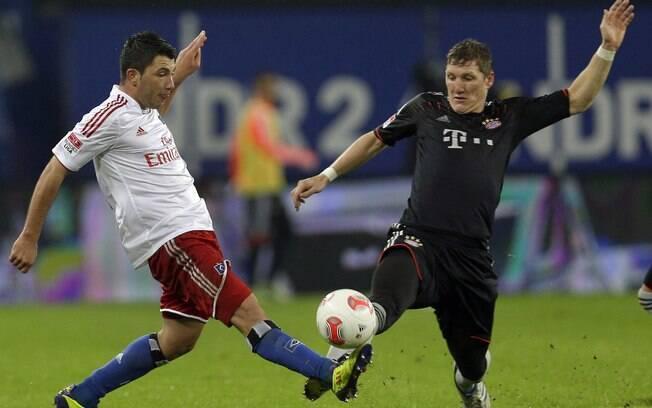 Recuperação veio logo no jogo seguinte, com a  vitória tranquila por 3 a 0 sobre o Hamburgo