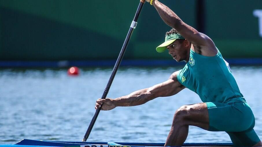 Isaquias Queiroz avançou à final da canoagem na categoria C1 1000m