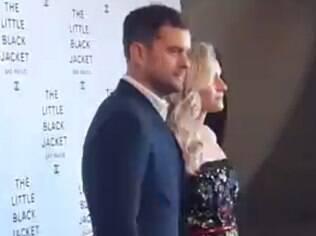 Joshua Jackson e Diane Kruger em evento da Chanel