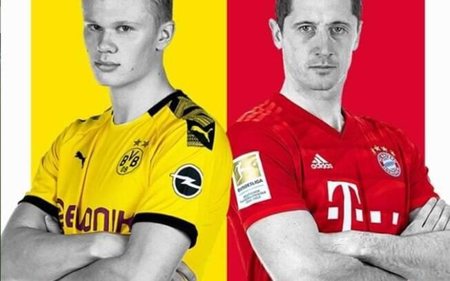 Haaland e Lewandowski são as estrelas do Alemão