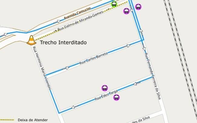 Acesso da Avenida Camucim terá interdição por 30 dias em Campinas